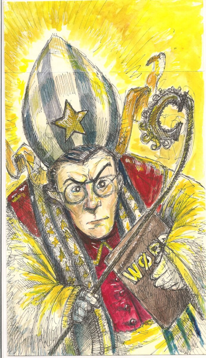 """""""Pope Colbert"""" by Kevin Sylvester"""