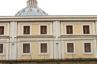 A view of Pope Francis' residence at the Vatican. CNS photo/Alessandro Bianchi, Reuters)