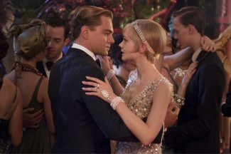 Leonardo DiCaprio and Carey Mulligan star in a scene from the movie The Great Gatsby. (CNS photo/Warner Bros.)