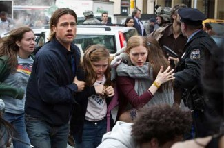 "A scene from the movie ""World War Z."" (CNS photo/Paramount)"