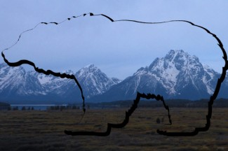 A view from Elizabeth's hike in Grand Teton National Park