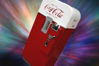cosmic coke machine