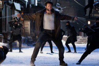 """Hugh Jackman stars in a scene from the movie """"The Wolverine."""" (CNS photo/Fox)"""