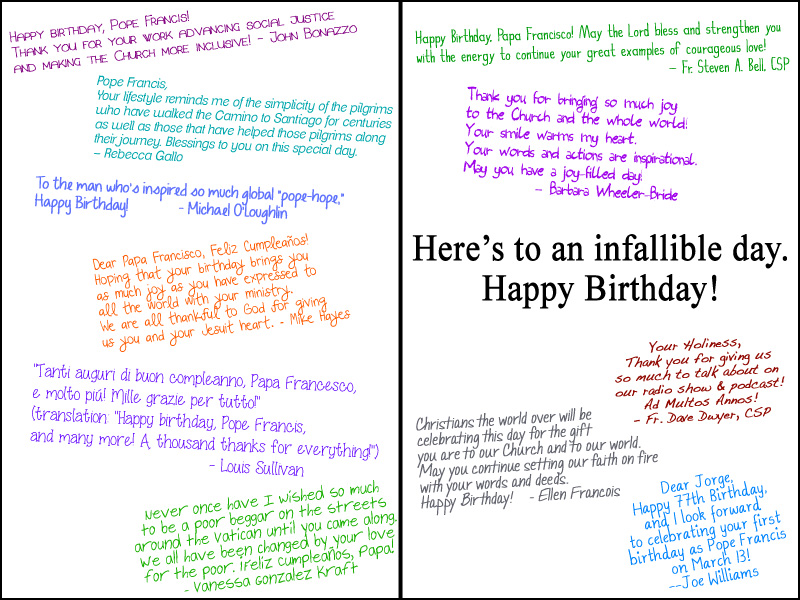 Happy Birthday Card Comments