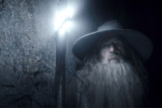 """Ian McKellen stars in the movie """"The Hobbit: The Desolation of Smaug."""" (CNS/courtesy of Warner Bros. Pictures)"""
