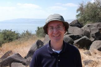 Fr. James Martin, SJ, visits the Sea of Galilee