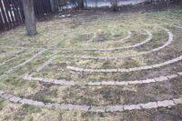 The labyrinth at the Unitarian Universalist Church of Buffalo.