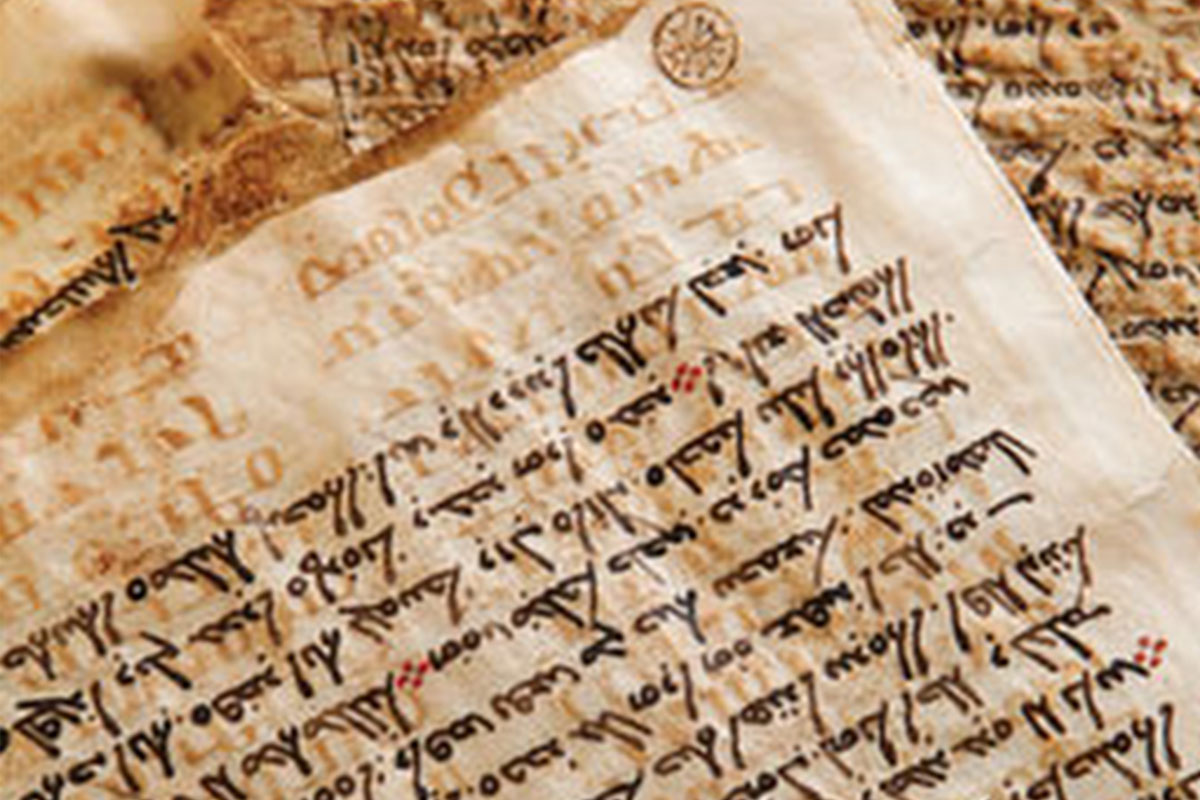 How is it written: in a new way or in a new way