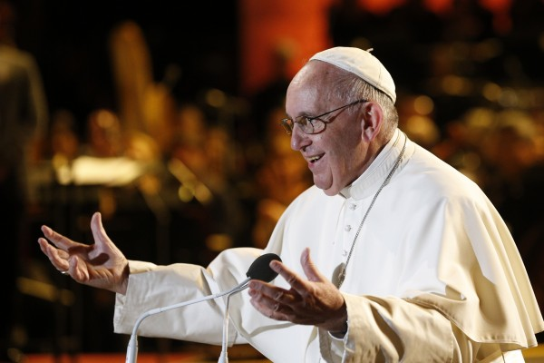 Pope Francis addresses Festival of Families during World Meeting of Families Philadelphia