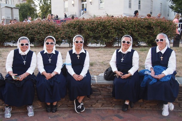 #Popeful Sisters.