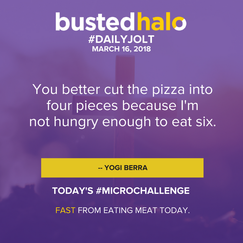 You better cut the pizza into four pieces because I'm not hungry enough to eat six. -- Yogi Berra