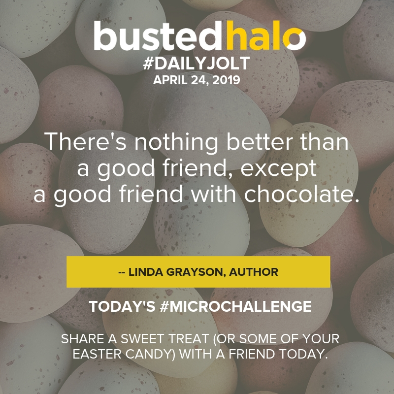 There's nothing better than a good friend, except a good friend with chocolate. -- Linda Grayson, author