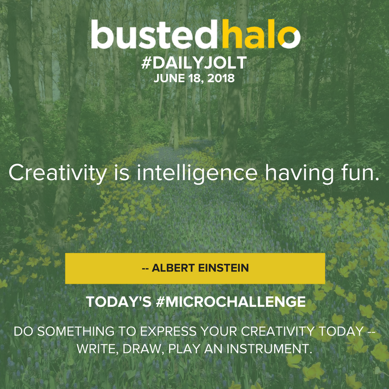 Creativity is intelligence having fun. -- Albert Einstein