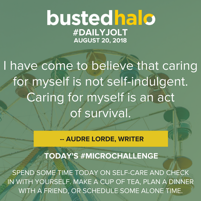 I have come to believe that caring for myself is not self-indulgent. Caring for myself is an act of survival. -- Audre Lorde, writer