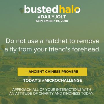 Do not use a hatchet to remove a fly from your friend's forehead. -- Ancient Chinese proverb