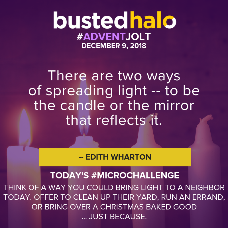 There are two ways of spreading light -- to be the candle or the mirror that reflects it. -- Edith Wharton