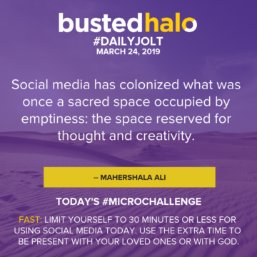 Social media has colonized what was once a sacred space occupied by emptiness: the space reserved for thought and creativity. -- Mahershala Ali
