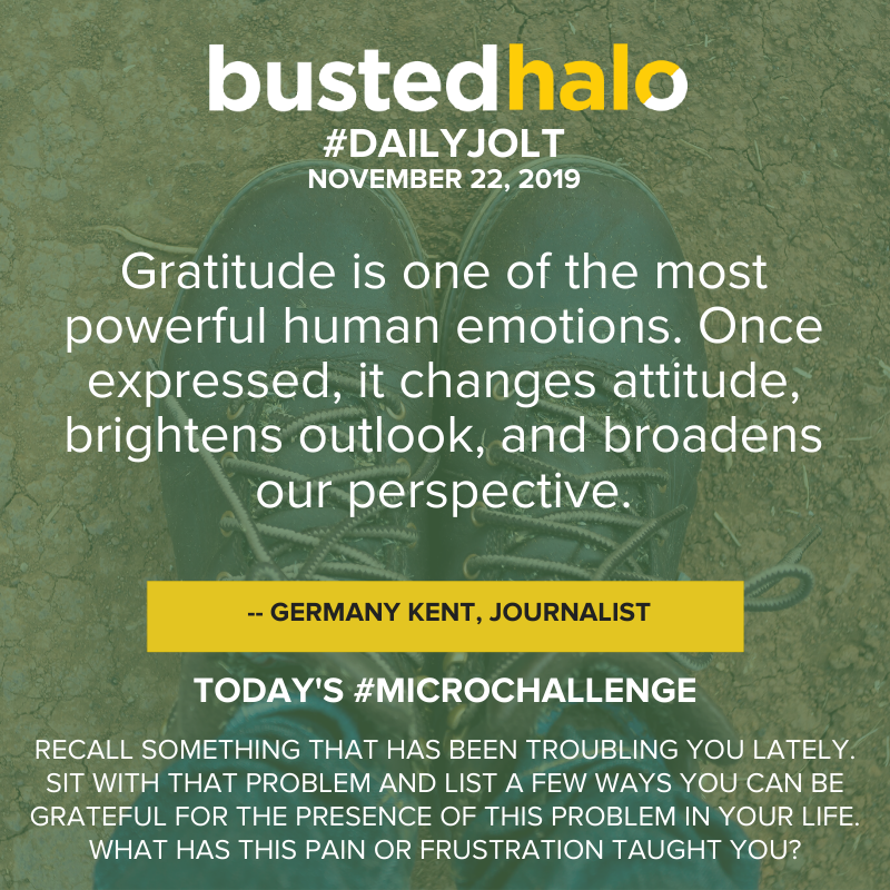 Gratitude is one of the most powerful human emotions. Once expressed, it changes attitude, brightens outlook, and broadens our perspective. -- Germany Kent, Journalist