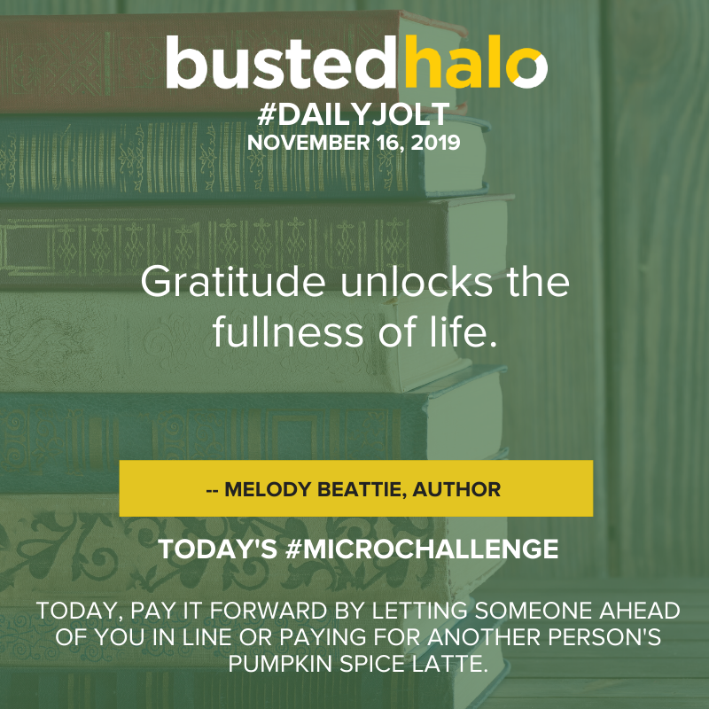 Gratitude unlocks the fullness of life. -- Melody Beattie, Author