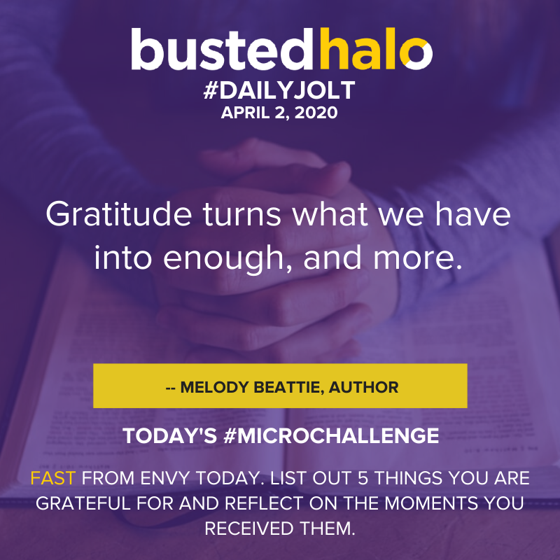 Gratitude turns what we have into enough, and more. -- Melody Beattie, author