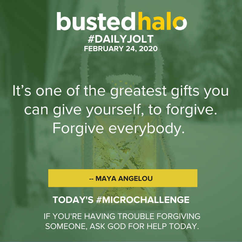 It's one of the greatest gifts you can give yourself, to forgive. Forgive everybody. -- Maya Angelou