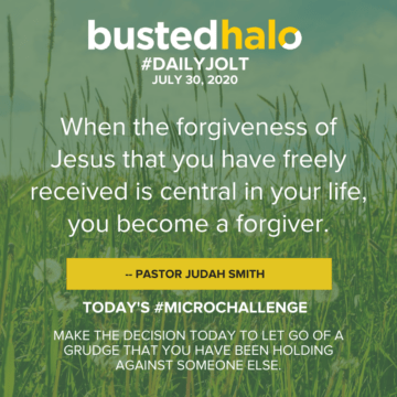 When the forgiveness of Jesus that you have freely received is central in your life, you become a forgiver. -- Pastor Judah Smith